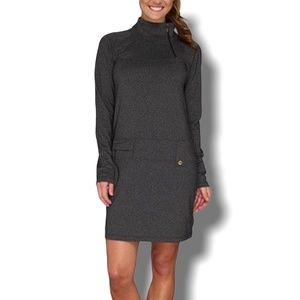 LOLE EVOLT FUNNEL NECK LONG SLEEVE DRESS/TUNIC